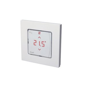 Danfoss - 088U1010 - Unterputzraumthermostat Icon(TM) mit LED-Display-Version, Unterputz